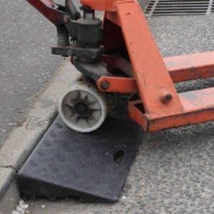 Heavy duty kerb ramps