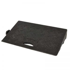 Black Kerb Ramp - Heavy Duty - Available in sizes 50mm to 150mm