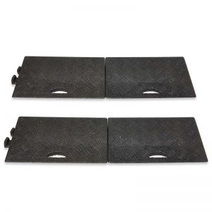 black 50mm Kerb Ramp, available singly or in packs