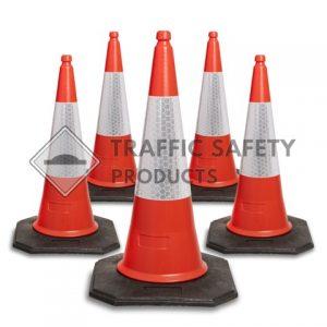 2 Piece Red Traffic Cones
