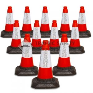 450mm Red Traffic Cone available in packs