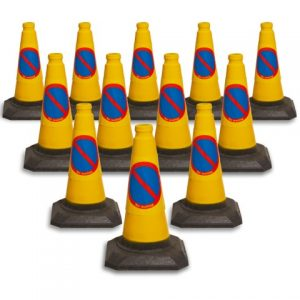 Pack of 12 450mm No Waiting Cone