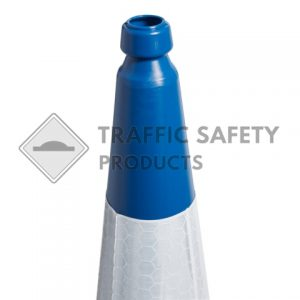 750mm and 1000mm Blue 2 Piece Road Traffic Cone