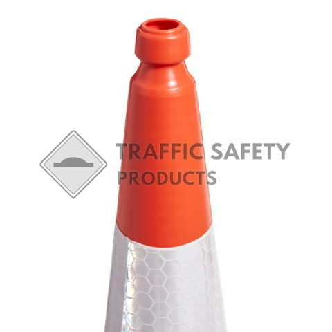 2 Piece Red Traffic Cone - 750mm and 1000mm