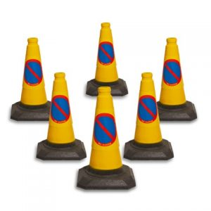 Pack of 6 450mm No Waiting Cones