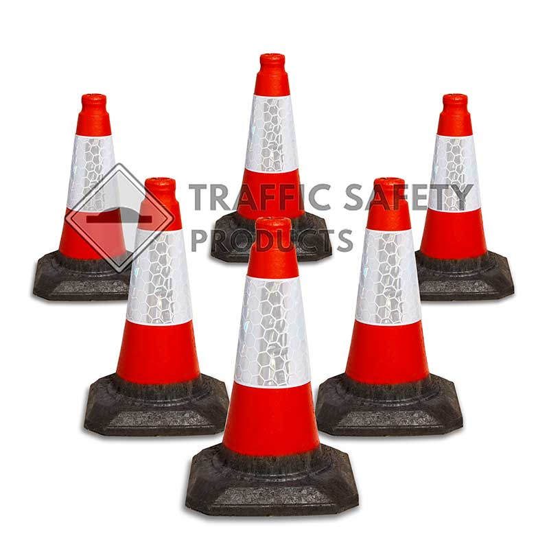 Small Red Traffic Cones